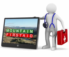 Mountain first aid training